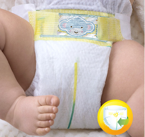 Pampers Premium Protection Urin Indikator