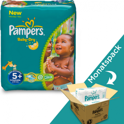 angebot pampers baby dry 5
