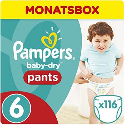 pampers baby dry pants angebote gr e 6. Black Bedroom Furniture Sets. Home Design Ideas